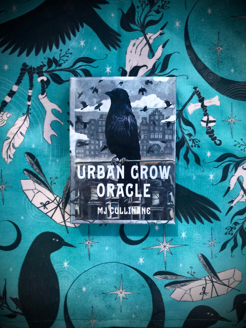 Urban Crow Oracle Deck by MJ Cullinane