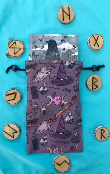 Witchy Woman Divine Light Divination Bag