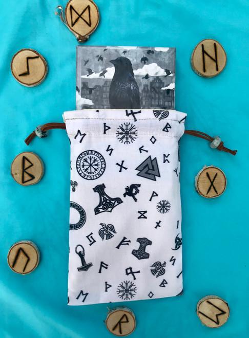 Norse Divine Light Divination Bag