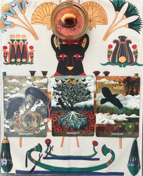 Egyptian Divine Light Divination Cloth
