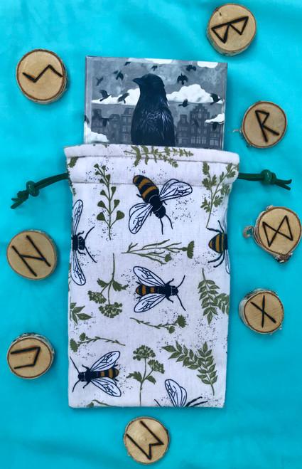 Honey Bee Divine Light Divination Bag