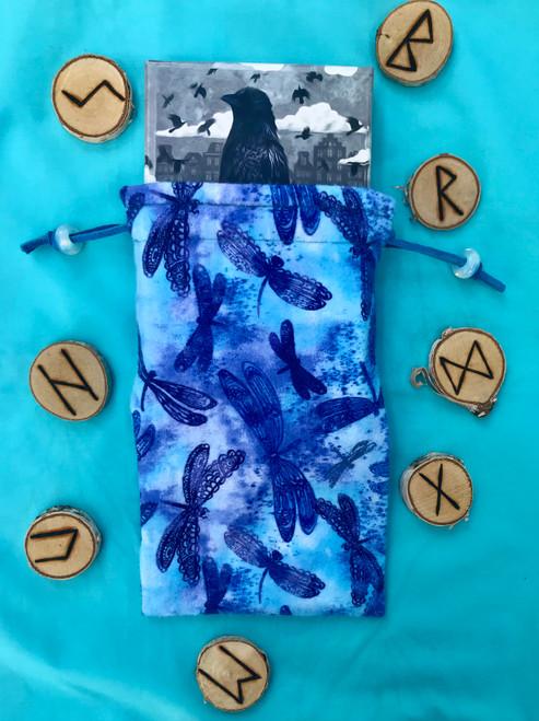 Dragonfly Divine Light Divination Bag