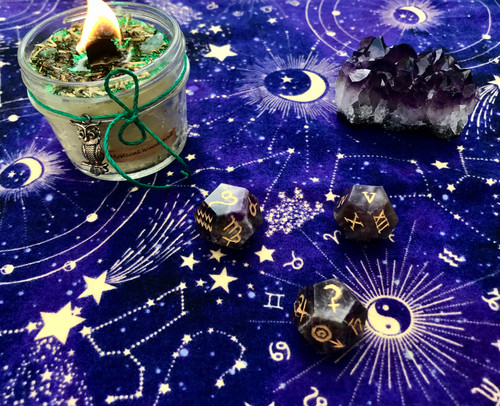 Dream Amethyst Astrology Dice