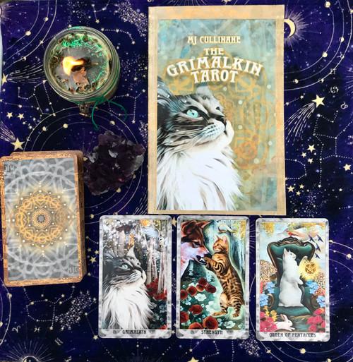 The Grimwalken Tarot by MJ Cullinane