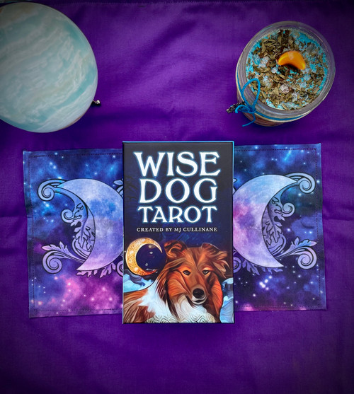 The Wise Dog Tarot by MJ Cullinane