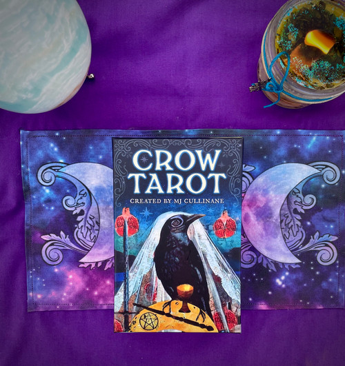 The Crow Tarot by MJ Cullinane