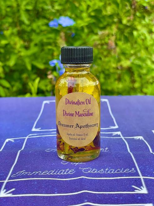 Divine Masculine Divination Oil