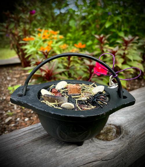 Samhain Cauldron Candle