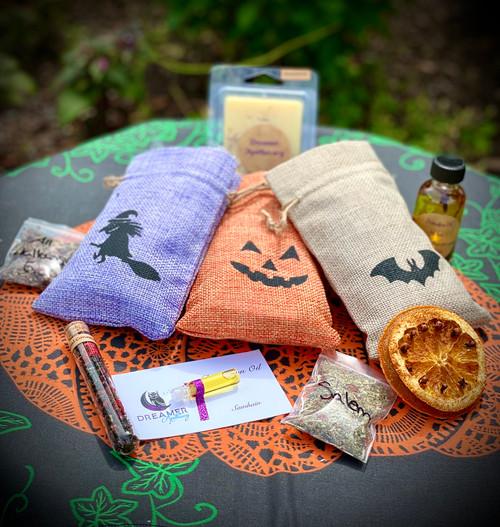 Mystery Samhain Apothecary Bags