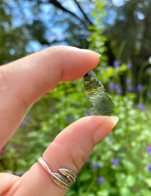 Angel Chime Moldavite - 2 Gram
