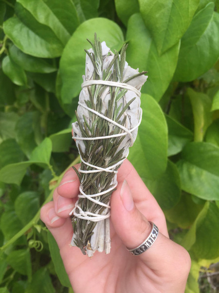 Purification Smudge Bundle- white sage and rosemary