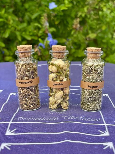 Lucid Dreaming Herb Set - Mugwort, Wormwood, Jasmine