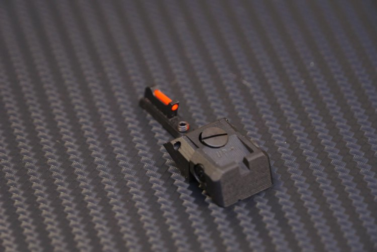MODERN WEAPON SYSTEMS - MWS SPHINX SDP COMPACT RED FIBER SIGHT SET -  ADJUSTABLE