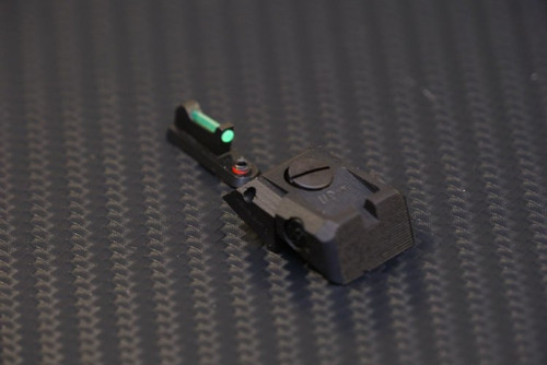 Sphinx SDP Compact Sight System Fully Adj. Tall Narrow Green Fiber Optic (set)