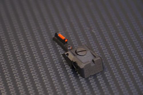Sphinx SDP Compact Sight System Fully Adj. Tall Narrow Red Fiber Optic (set)
