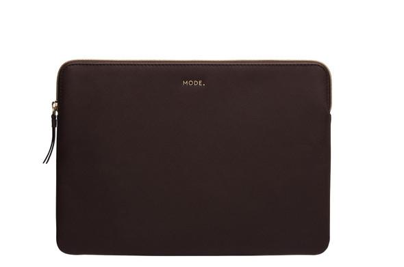 DBRAMANTE1928, PA13DACH5446, Paris 13 Inch Laptop Sleeve Dark Chocolate, Brown