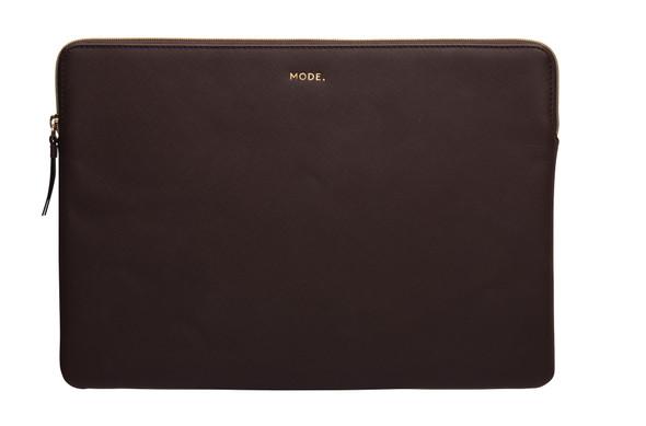 DBRAMANTE1928, PA15DACH5449, Paris 15/16 Inch Laptop Sleeve Dark Chocolate, Brown