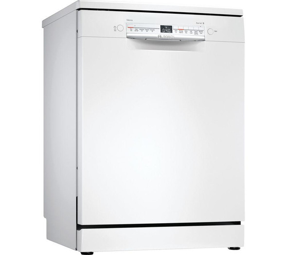 Bosch, SMS2ITW41G, Serie 2 SMS2ITW41G Full-Size WiFi-Enabled Dishwasher, White