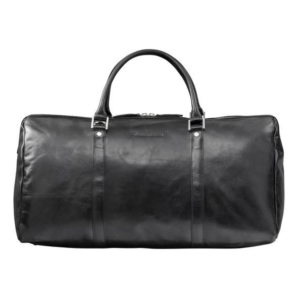DBRAMANTE1928, WK02GTBL0935, Kastrup 2 Weekender Bag, Black