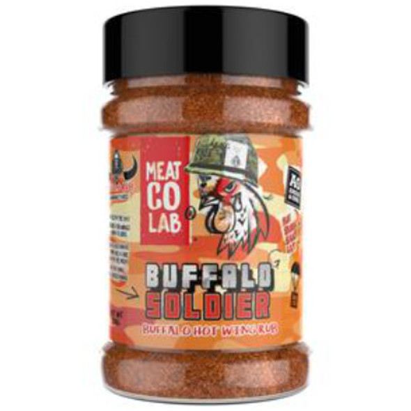 Angus & Oink,Buffalo Soldier Wing Rub,