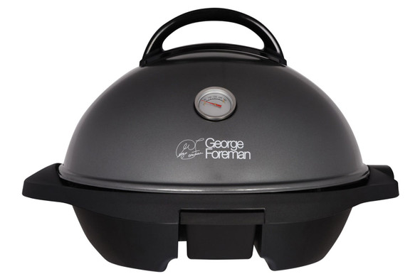 George Foreman, 22460, Indoor & Outdoor Grill, Chrome