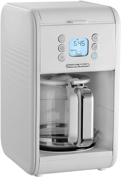 Morphy Richards, 163007, Verve Coffee Filter, White