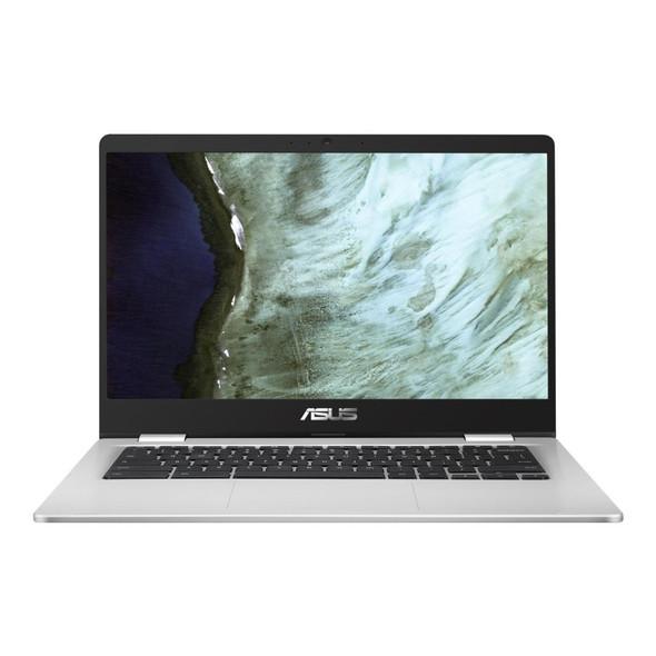 Asus, C423NA-EC0418, 14 Inch Chromebook Full HD Intel Celeron N3350 4GB RAM 32GB eMMc, SILVER