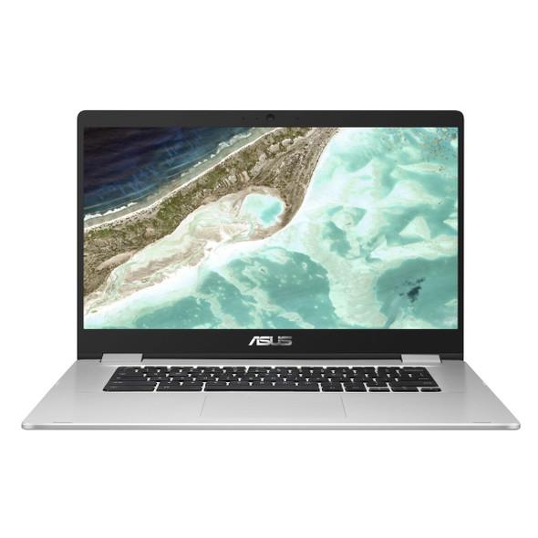 Asus, C523NA-A20408, 15.6 Inch Chromebook Full HD Intel Celeron N3350 4GB RAM 64GB eMMc, SILVER