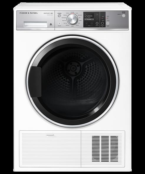 Fisher & Paykel, DH9060FS1, 9kg Heat Pump Condensing Dryer, White
