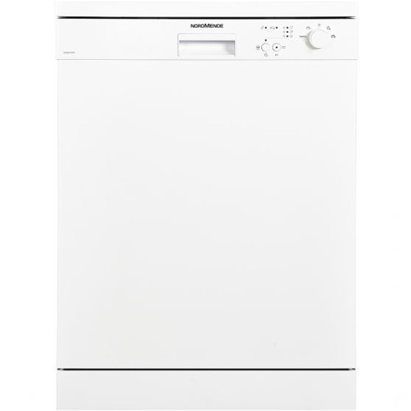 Nordmende, DW642WH, 60cm Freestanding Dishwasher, White