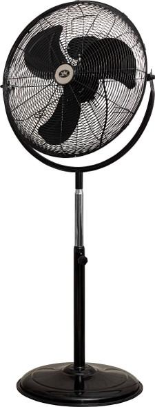 Prem-I-Air, EH1864, 20 Inch Fan HV With 360 Degree Head, Black