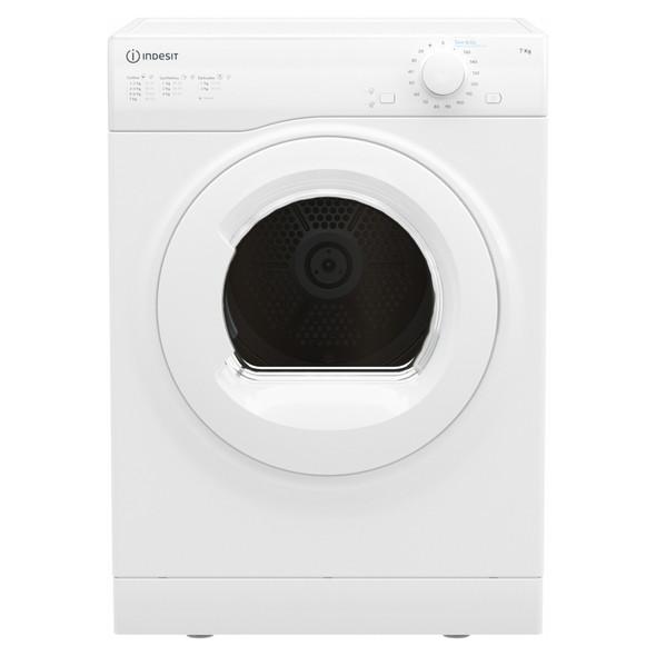 Indesit, I1D80WUK 8KG Vented Tumble Dryer, White