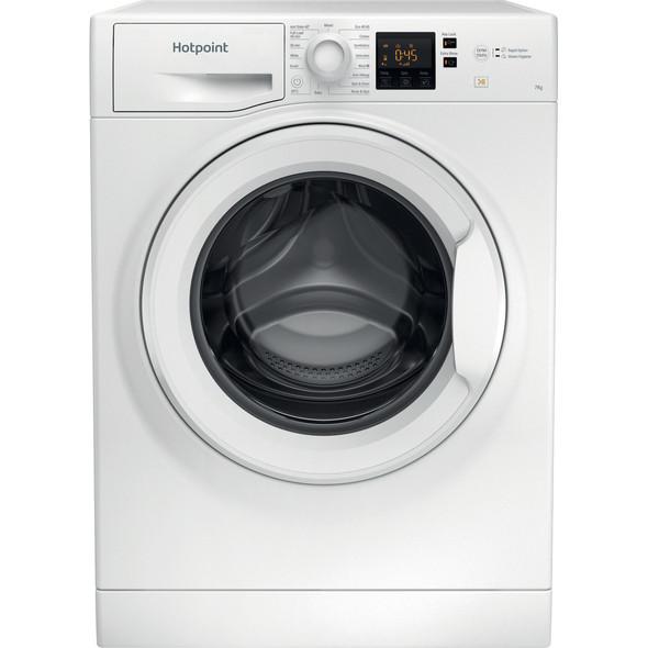 Hotpoint, NSWM742UW, 7KG, 1400RPM, Washing Machine, White