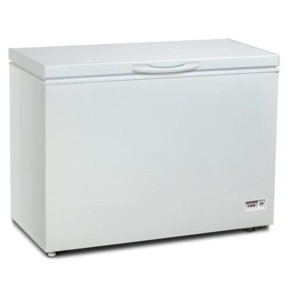 Powerpoint, P11400MLW, 400Lt Chest Freezer, White