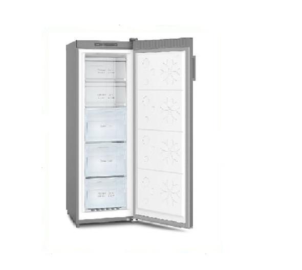 Powerpoint, P125514FFINOX, Frost Free Freezer, Silver
