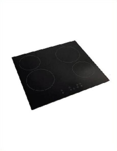 Powerpoint, P154CZTC, 4 Zone Touch Control Frameless Ceramic Hob, Black