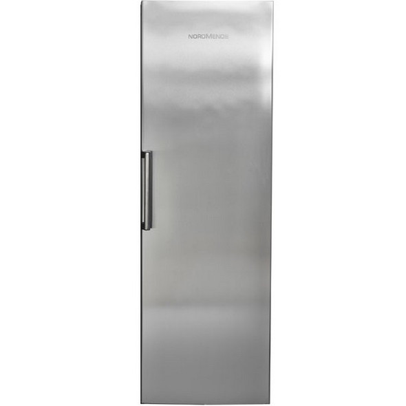 NordMende, RTF394NFRIX, NordMende Tall Freezer with Click Handle and Electronic Front Display Stainless Steel, Stainless Steel