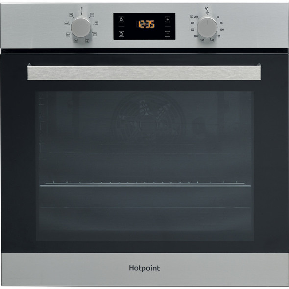 Hotpoint, SA3540HIX, Built-In Electric Oven, Silver