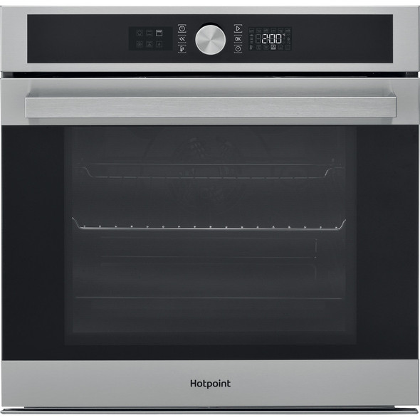 Hotpoint, SI5854PIX, Pyro Single Oven, Stainless Steel