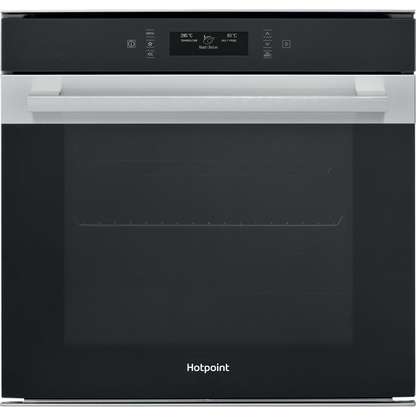 Hotpoint, SI9891SPIX, Class 9 Single Built-In Oven, Grey