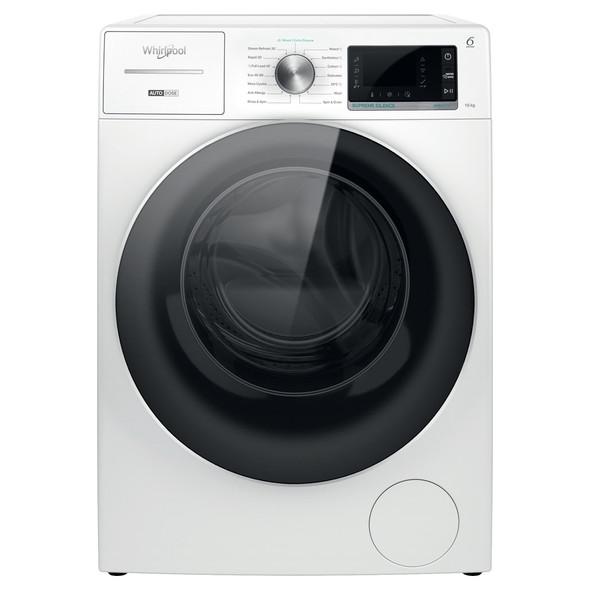 Whirlpool, W8W046WRUK, 10Kg Washing Machine With 1400 rpm, White