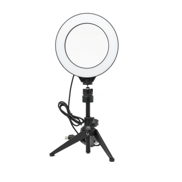You Star, YS2160, Content Creator 16cm Dimmable LED Ring Light, Black