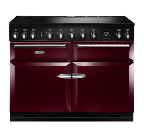 Stanley Supreme, SUP110EICBY/,  Deluxe 110cm Induction, Range Cooker, Red