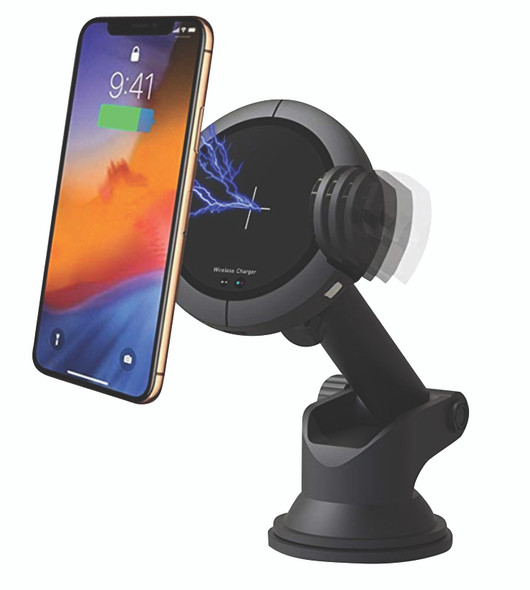 iStar, PI00724, Wireless Charger Car Mount, Black