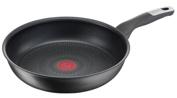 Tefal, G2550653, Unlimited Induction 28cm Non-Stick Frying Pan, Black