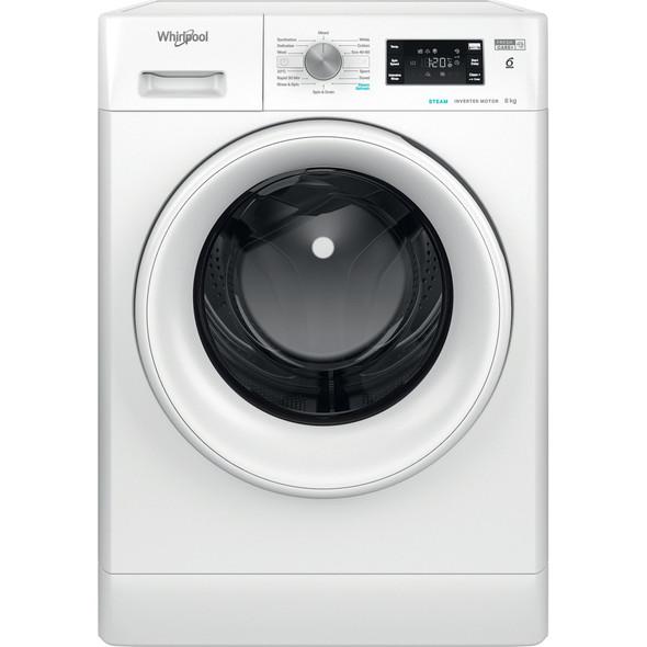 Whirlpool,FFB8458WVUK,8kg Freestanding Washing Machine, White