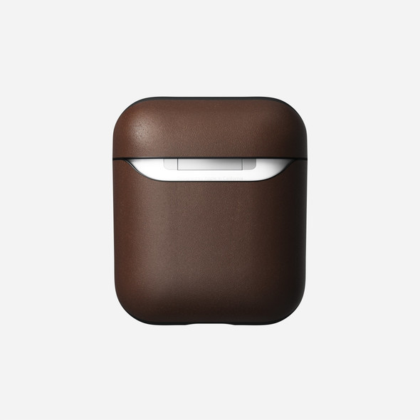 NOMAD, NM220R0X00, Airpods Rugged Leather Case, Brown