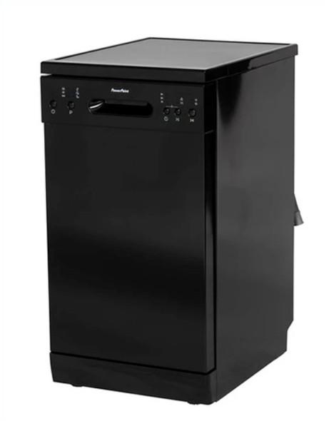 Powerpoint, P24510M6BL, 45cm 10 Place Dishwasher Black, Black