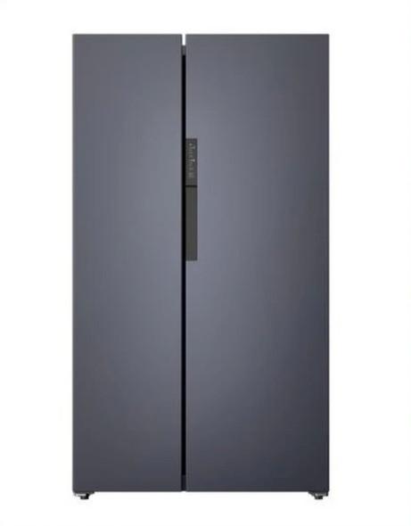 Powerpoint, P9466SKINOXCP, Side By Side American Style Fridge Freezer, Grey