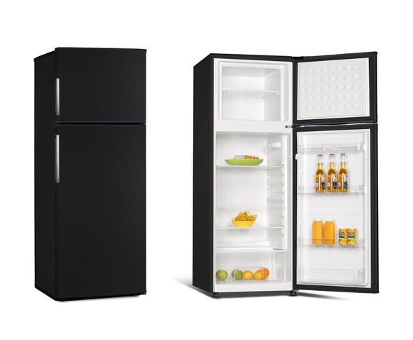 Powerpoint, P75562MLBL, 55cm Fridge Freezer, Black
